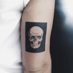 TATTOOS.ORG — Skull Tattoo by soddog Borneo-bali