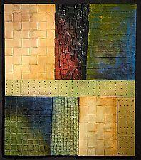 "Beaverbrook at Midday by David Paul Bacharach (Metal Wall Sculpture) (28"" x 24"")"