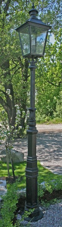 Utomhuslampa - Lyktstolpe Ljuså S4 - 112-735