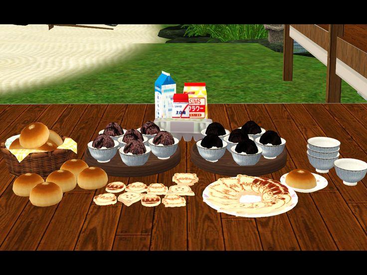 Noir And Dark Sims Conversion Decorative Japanese Food
