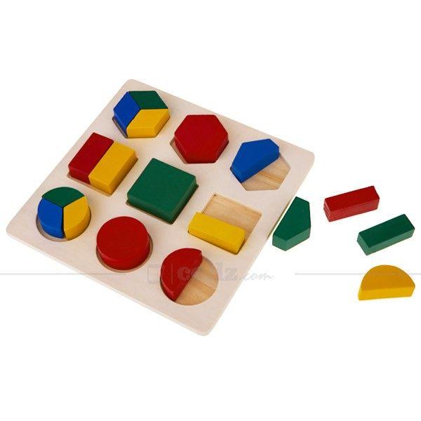 Multicolor Wooden Building Block Toy #wooden #building #block #toy #cellz