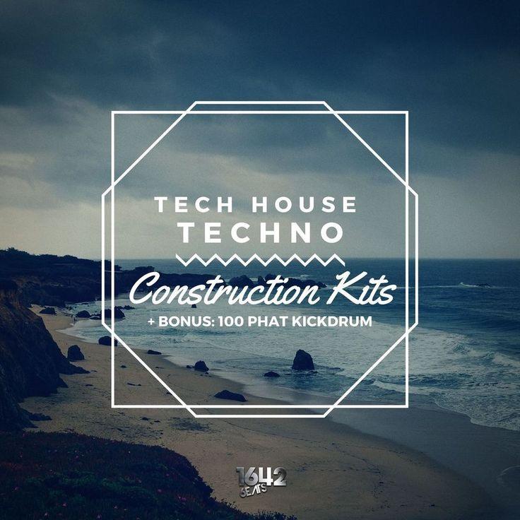 Tech House Techno Kits + SYLENTH PACK [1642 Beats] (24-Bit WAV / MIDI / SYLENTH)