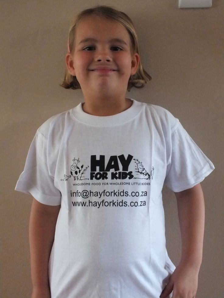Hay For Kids - www.hayforkids.co.za T-shirts for Children and Adults.