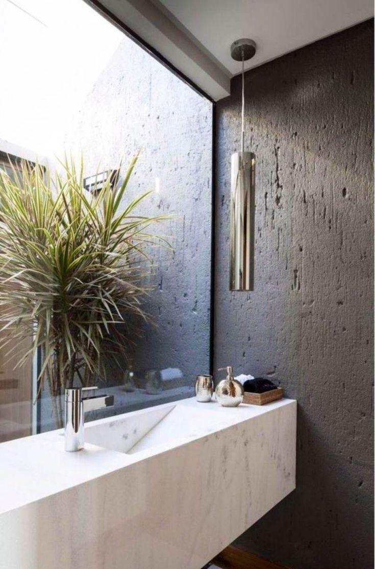 modern bathroom fountain valley reviews%0A Salle de bain moderne en    id  es d u    am  nagement r  ussi