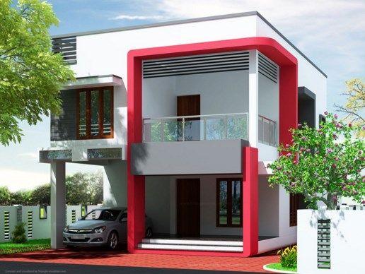 warna cat rumah mewah merah