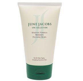 June Jacobs Sensitive Formula Mandarin Polishing Beads 4.5 fl oz. by June Jacobs. $28.77. Formulated for delicate skin and is a gentle pore detoxifying face and body scrub.. Sensitive skin needs exfoliation too. June Jacobs Sensitive Formula Mandarin Polishing Beads is designed to remove toxins from the most delicate skin..... Save 64% Off!