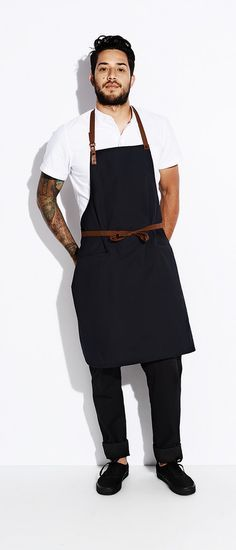 CONTRA APRON | Chef wear by Tilit: chef coats, chef pants, aprons, work-shirts, custom workwear, server uniforms, made in USA chef gear.