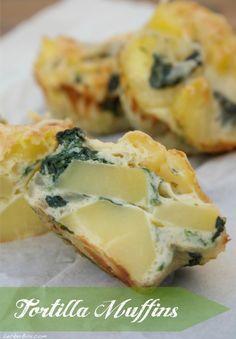 Tortilla-Muffins GLUTENFREI