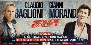 Capitani coraggiosi, il tour Baglioni-Morandi