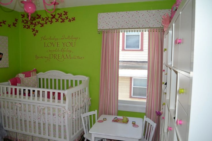 431 best images about green and pink rooms on pinterest baby girl rooms baby rooms and. Black Bedroom Furniture Sets. Home Design Ideas