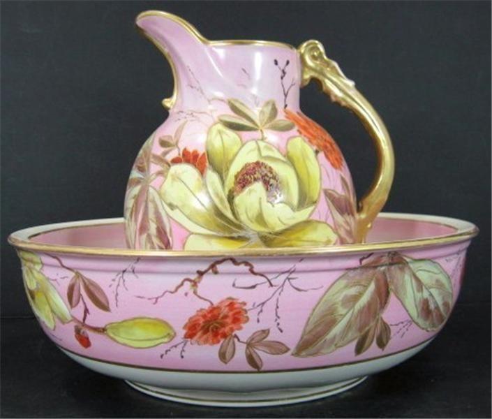 278 best pitcher water basin images on pinterest bowl for Bath enamel paint