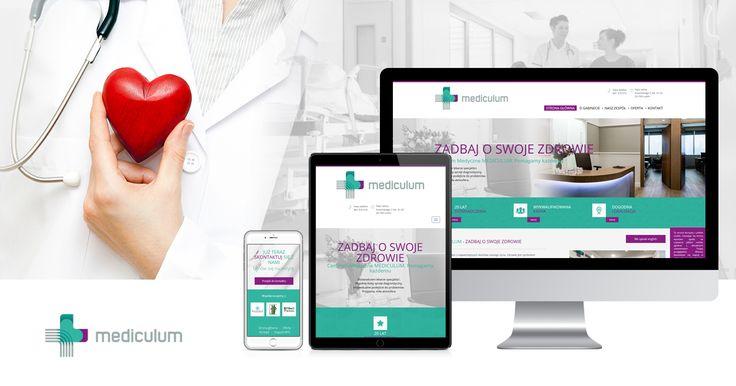 #nowyprojekt Tym razem przedstawiamy responsywną i dostosowaną do użytkowników stronę WWW Gabinetu Mediculum ✌