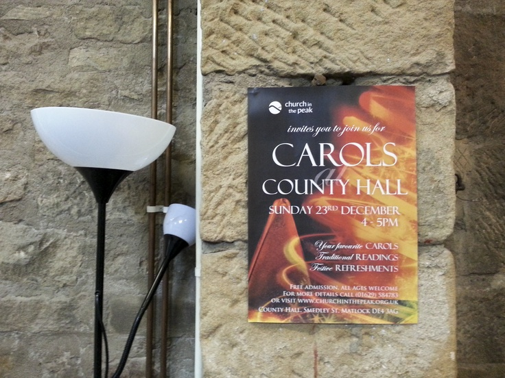 A3 Posters For Carols At County Hall Ready In Plenty Of Time Christmas Print Pinterest