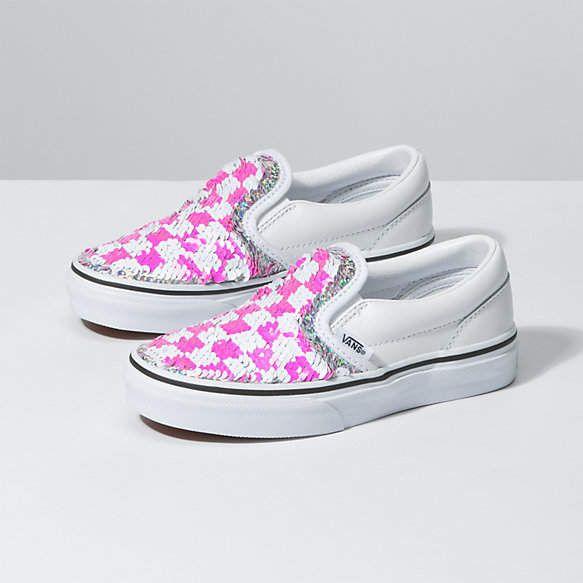 Vans Kids Flipping Sequins Slip-On