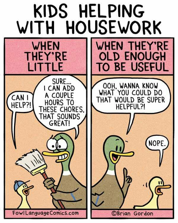 Fowl Language Comics - Housework