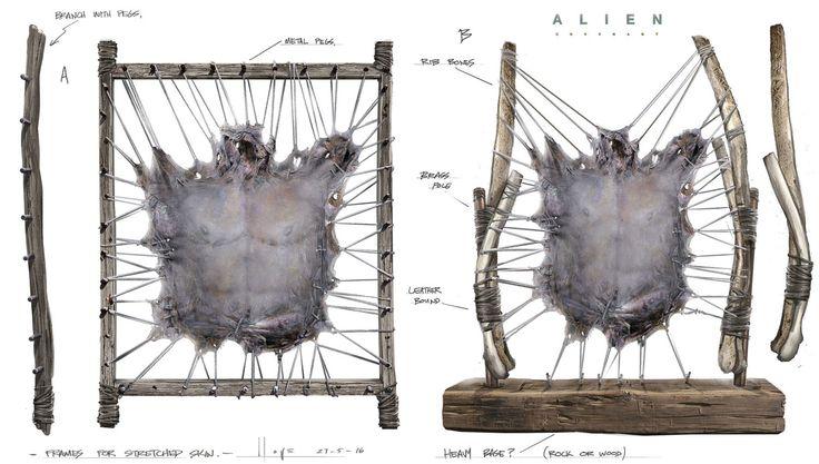 50 Alien Covenant Concept Art by Jeremy Love