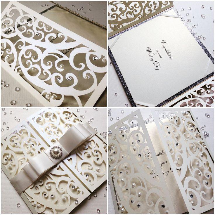 42 best Laser Cut Wedding Invitations part 2 by Crafty Designer ...