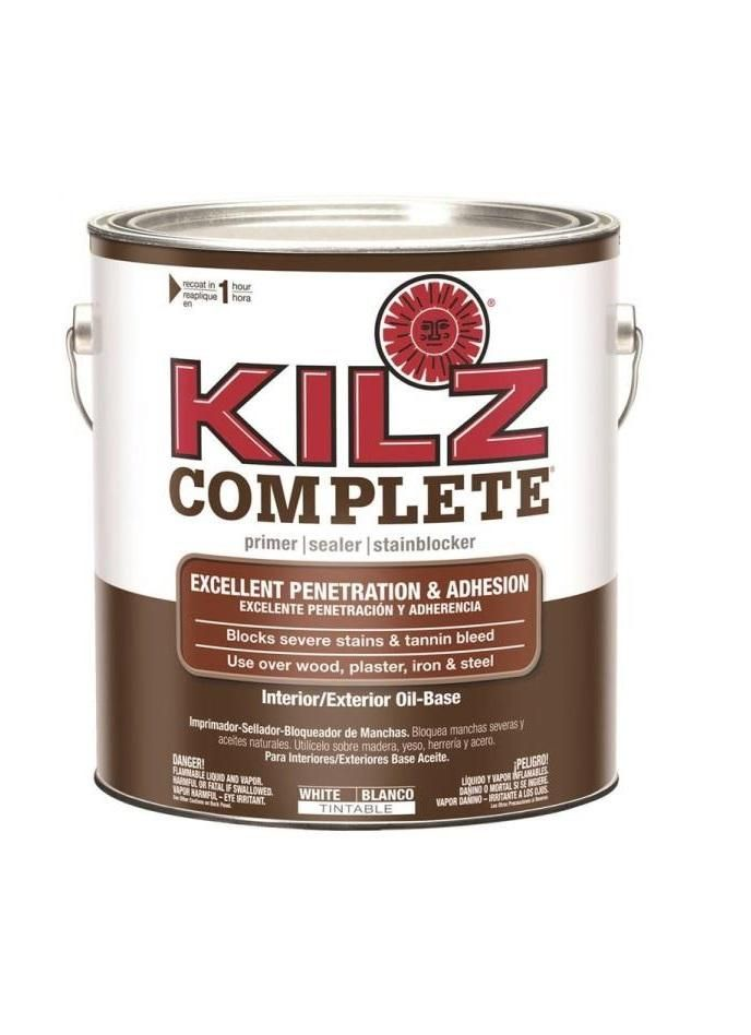 Kilz L101311 Complete High-Adhesion and Penetration Primer/Sealer, 1 Gallon