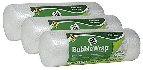 Duck Brand Bubble Wrap Original Protective Packaging cAiAd 3Pack 24 in. x 35 ft.