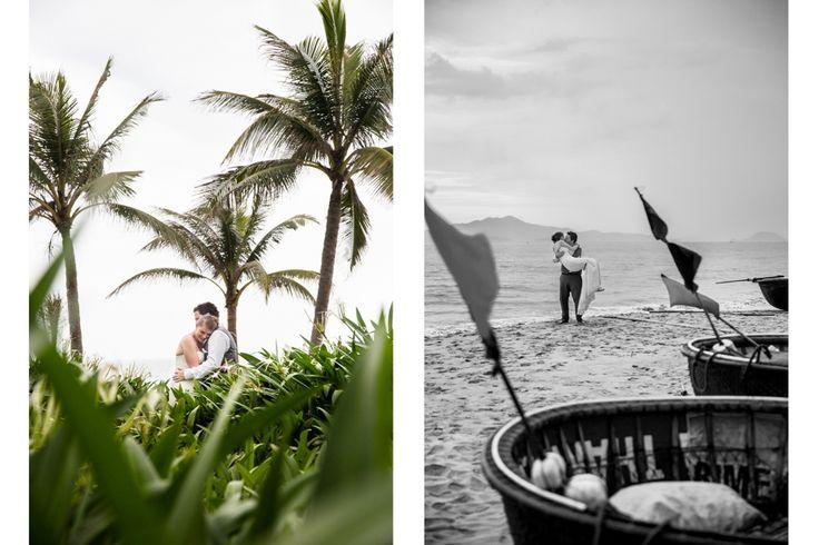 Beautiful wedding shots, photos courtesy of Ehrin Macksey @ MWeddings  http://vietnamweddingphotography.ehrinmacksey.com/ #HoiAnEventsWeddings #HoiAn #VietnamBeachWeddings