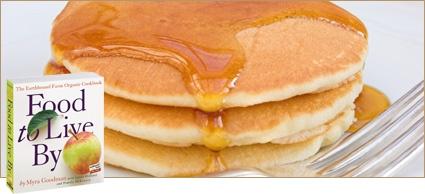 Basic Whole Wheat Pancake Mix