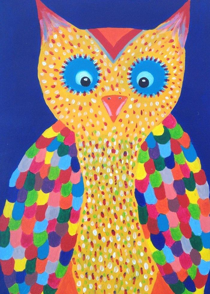 owl (illustrator unknown)
