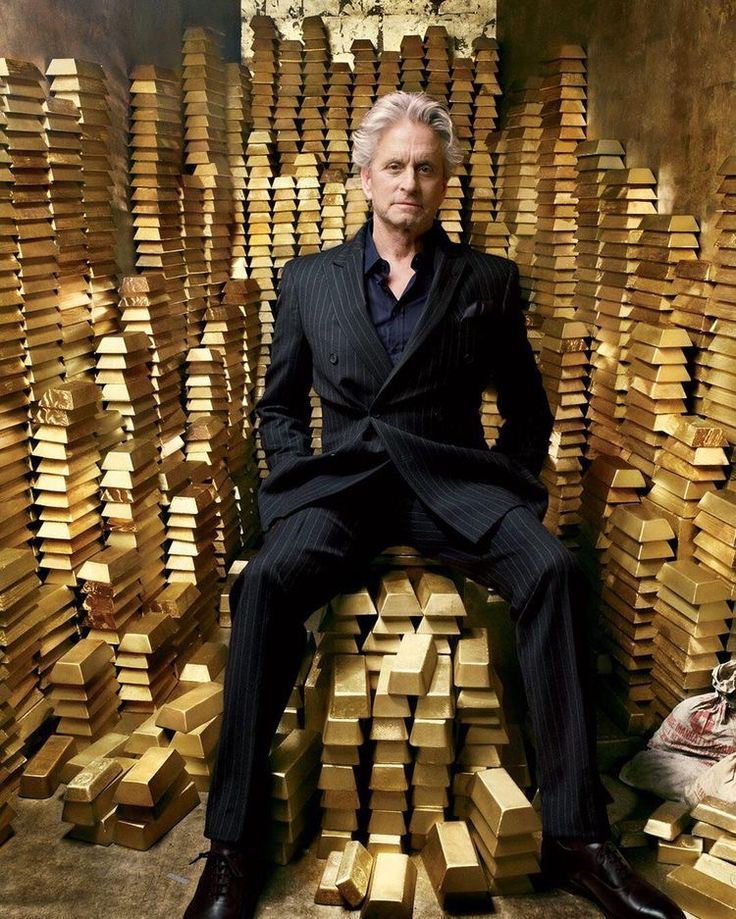 "Oliver Stone's ""Wall Street 2: Money Never Sleeps,"" star Michael Douglas. Cover photo by Annie Leibovitz for Vanity Fair January 2010."