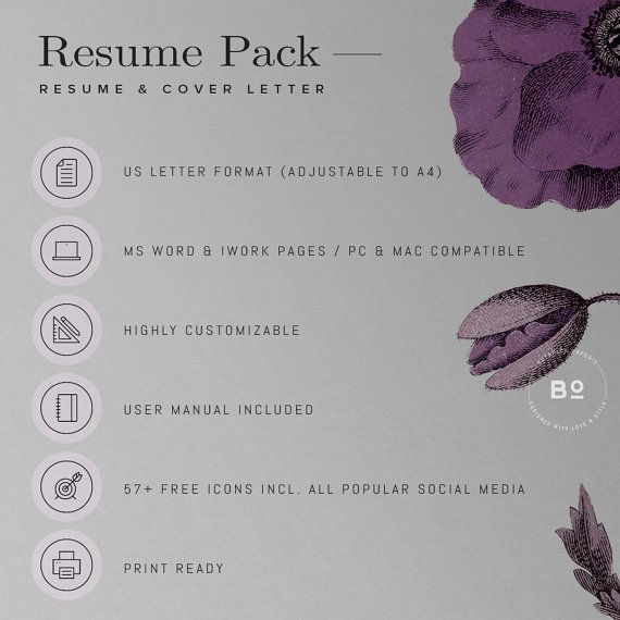 133 best resume templates images on Pinterest Resume templates