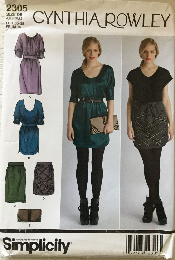 35 best creative concepts images on pinterest creative factory simplicity pattern 2305 misses dresses skirt purse cynthia rowley collection jeuxipadfo Gallery