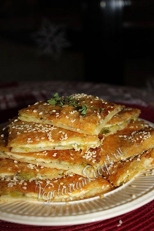 пирог с кабачком