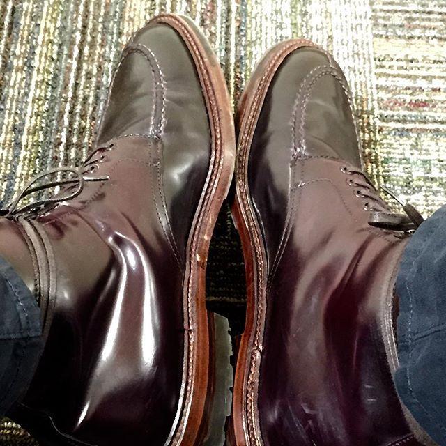 jpm1shoes Alden x @aldenmadison Color 8 Shell Cordovan Tanker Boot #aldenarmy #aldenshoes #aldenboots #aldenpeople #dailylast #shineyourshoes #mensfashion #mensstyle #menswear #madeinusa #horween #horweenshellcordovan #handmade #shoes #boots #color8 #shellcordovan #cordovan #leather #handmade #craftsmanship 2017/08/01 06:38:32