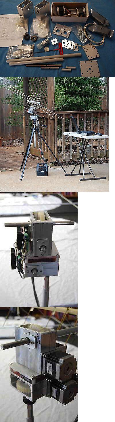 Other Ham Radio Equipment: Cnctrk Satellite Tracking Aximuth And Elevation Az/El Positioner/Rotor Razel Kit -> BUY IT NOW ONLY: $400.0 on eBay!