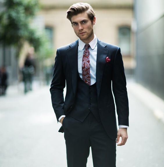 1515 best images about silk ties on pinterest tie shop for Black suit burgundy shirt