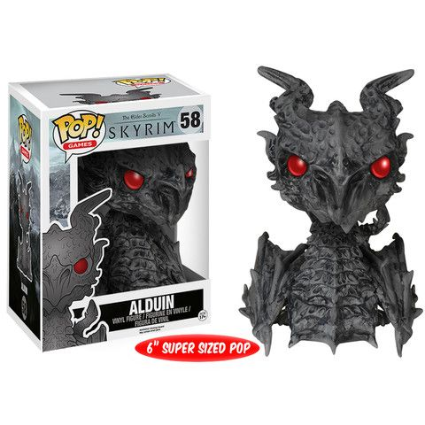 Alduin Funko Pop Vinyl from the Elder Scrolls Skyrim video game. 6
