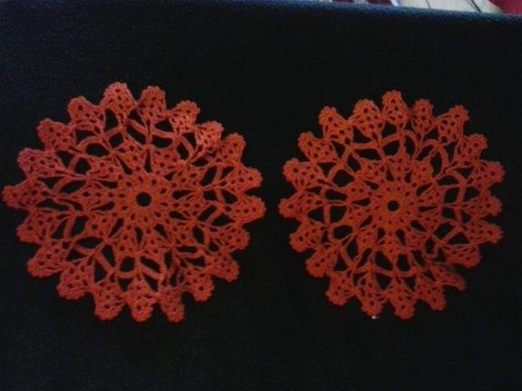 Røde duker