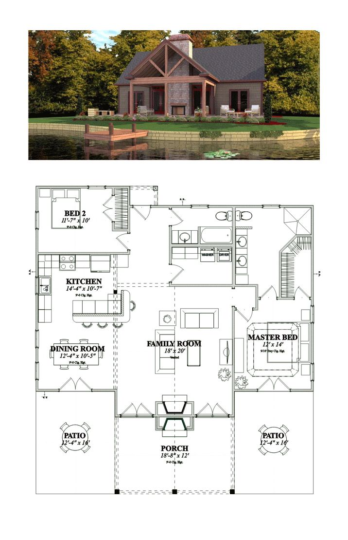 1000+ Ideas About Bungalow House Plans On Pinterest