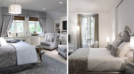 grey and beige bedroom - Google Search