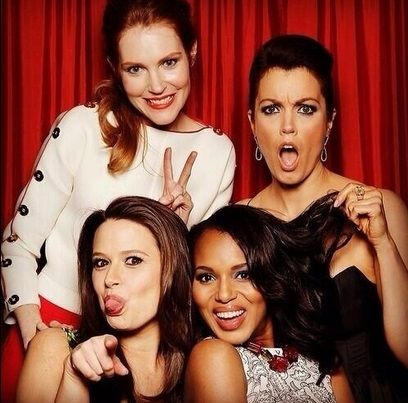love these girls #Scandal