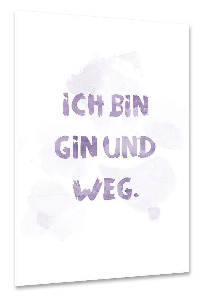 Gin und Weg als Poster bei artboxONE kaufen