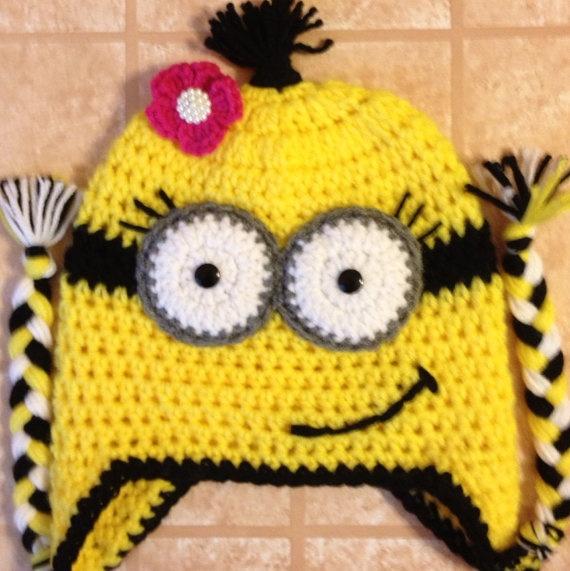 Mejores 243 imágenes de Minion en Pinterest | Sombreros de ganchillo ...