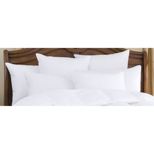 Nirvana White 700+ Polish Firm Queen Goose Down Pillow - (In No Image Available)