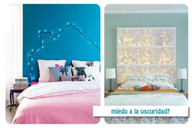 17 mejores ideas sobre luces de cama en pinterest - Cabeceros con luz ...