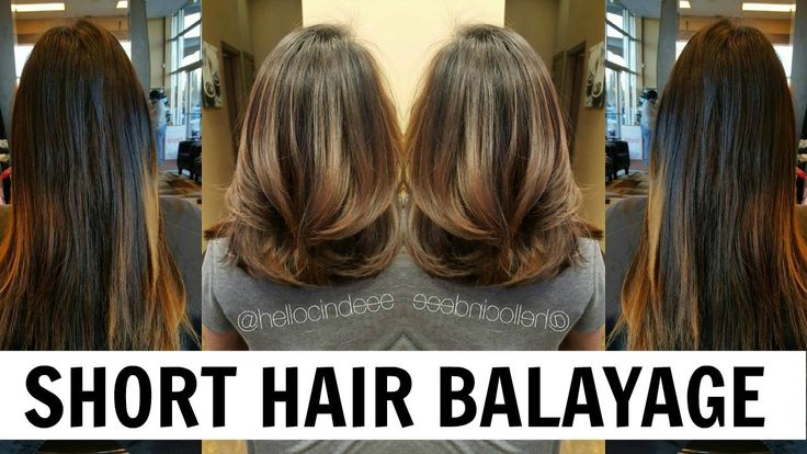 Hellocindee - Balayage Tutorial for Short Hair *Asian Hair
