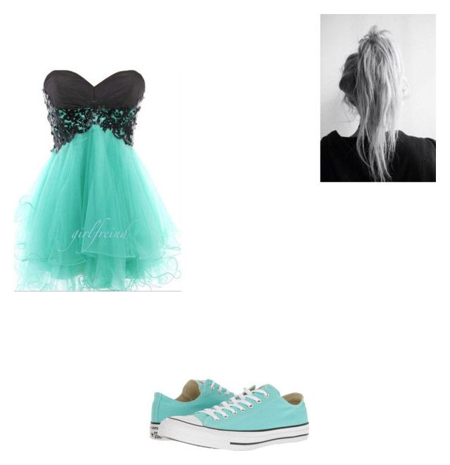 """#412"" by aureeliet on Polyvore featuring Converse"