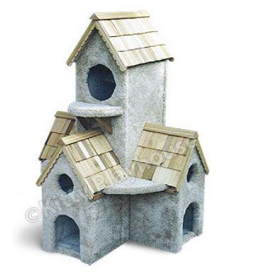 3 Foot Dutch Bell Tower Cat Playhouse $329.00