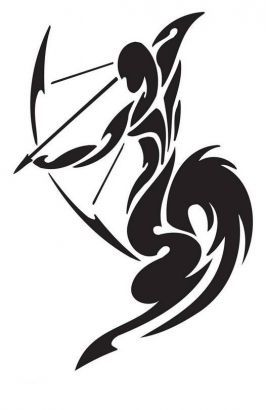 Sagittarius Tattoos Design Free Picture.