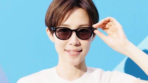 眼鏡市場のcmで木村佳乃が度付サングラスとレンズと衣装を七変化