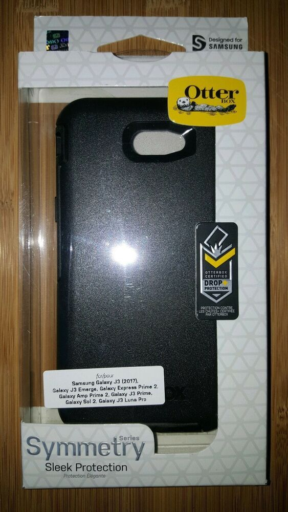 NEW Otterbox Symmetry Phone Case for Galaxy J3 Emerge Prime