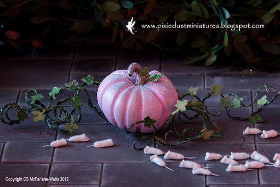 Cinderella's Pumpkin Carriage FAIRYTALE by PixieDustMiniatures, $59.00-https://www.etsy.com/treasury/OTI3NDI1OXwyNzIyMjAzOTM1/how-do-you-get-around-etsy-promo-forum