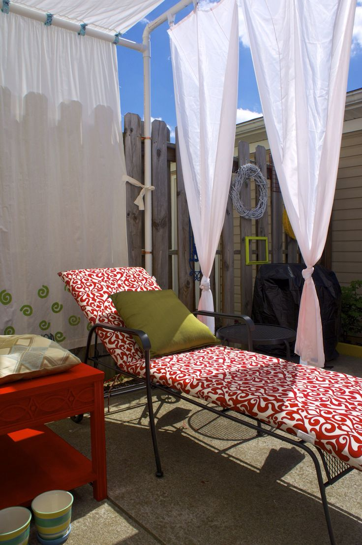 47 best images about DIY Back Yard Ideas on Pinterest | Curtain ...